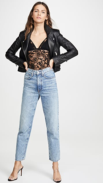 Fleur du Mal 三角形丁字裤紧身连衣裤