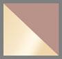 金铜饰/棕色