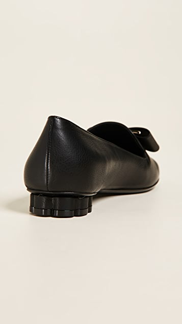 Salvatore Ferragamo Sarno 平跟船鞋