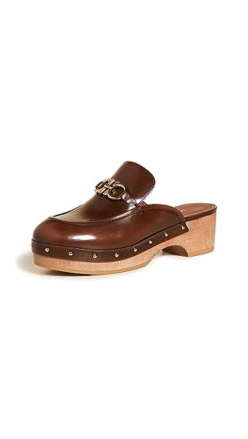 Salvatore Ferragamo Cleome 木底鞋