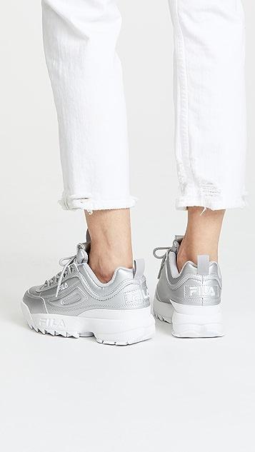 Fila Disruptor II Premium 金属色运动鞋