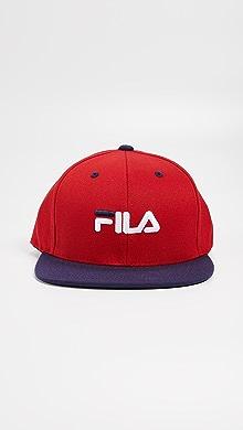 Fila Flexfit Snapback Hat,Red