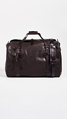 필슨 가죽 미디움 더플백 - 시에라 브라운 Filson Weatherproof Leather Medium Duffel Bag,Sierra Brown