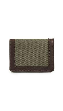 Filson Outfitter Card Wallet,Otter Green