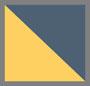 海军蓝/暖黄色