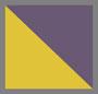 黄色/紫色