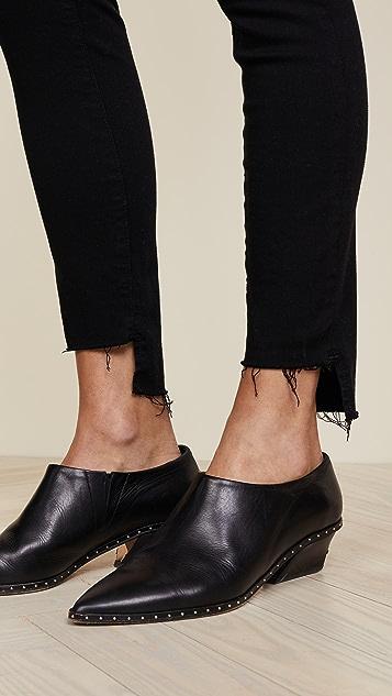 FRAME Le Skinny de Jeanne 高低摆牛仔裤