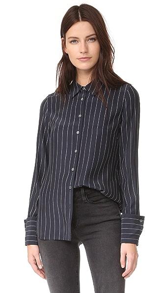 FRAME 双层袖口女式衬衫