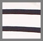海军蓝/白色航海风条纹