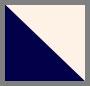 灰白色/海军蓝条纹