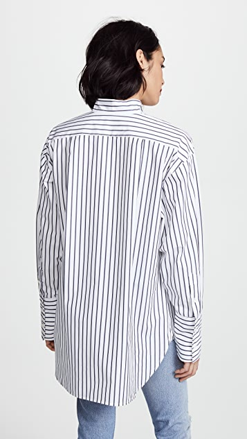 FRAME 简洁有领衬衣