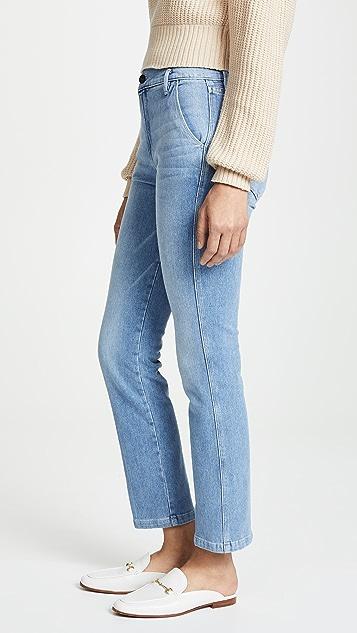 FRAME 窄版裤子