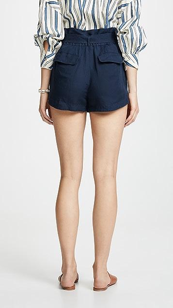 FRAME 纸包短裤