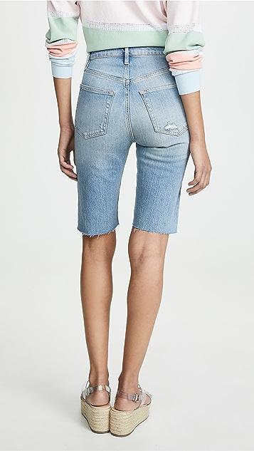 FRAME Le 复古百慕大短裤