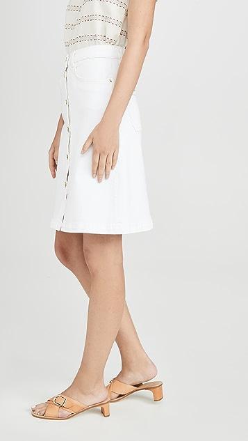 FRAME 复古半身裙