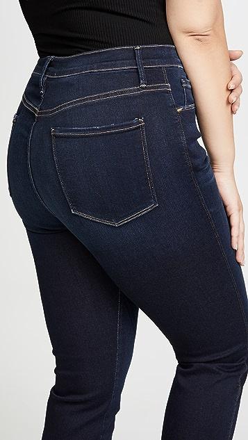 FRAME Sylvie 直筒牛仔裤