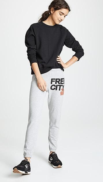 FREECITY FREECITY 运动裤