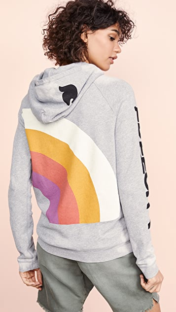 FREECITY Rainbow Jump 连帽上衣