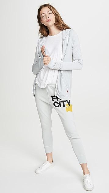 FREECITY Hockney 条纹连帽衫