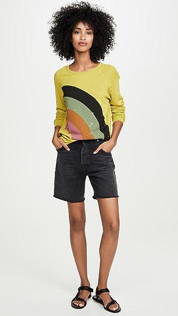 FREECITY Rainbow Jump 运动衫