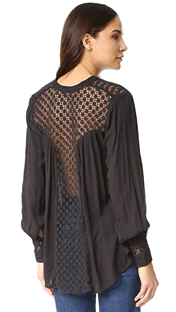 Free People The Best 系扣衬衣