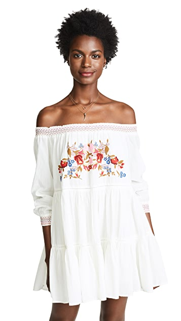 Free People Sunbeams 迷你连衣裙