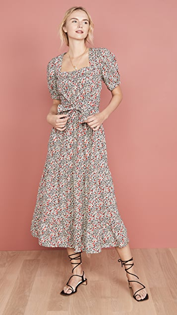 Free People Heartlands 长连衣裙