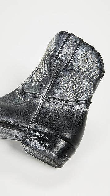 Frye Billy 铆钉短靴