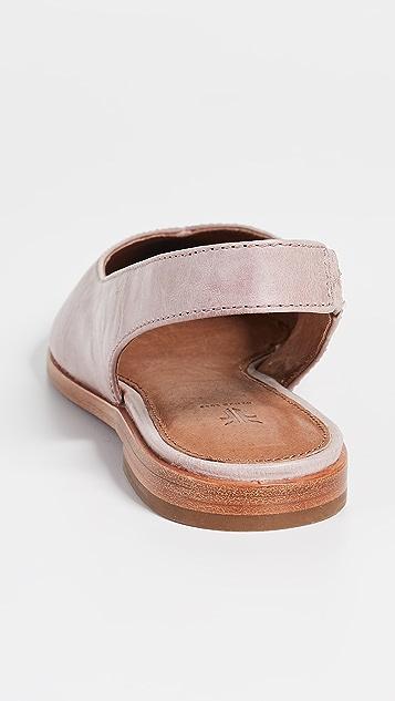 Frye Kenzie 露跟平底鞋