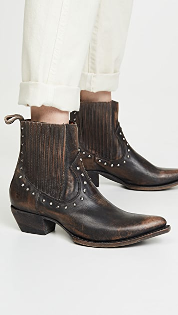 Frye Sacha 铆钉切尔西短靴