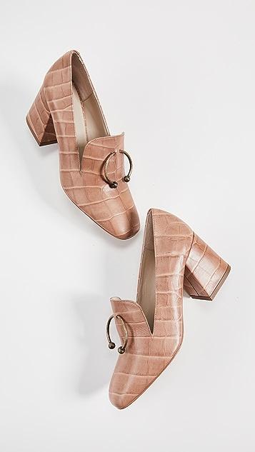 Freda Salvador Lift 平跟船鞋