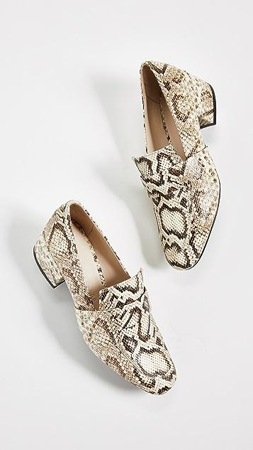 Freda Salvador Rock 平跟船鞋