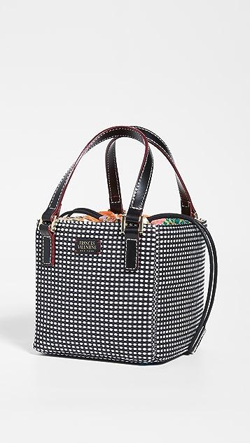 Frances Valentine 小号圆形顶部提手手提袋