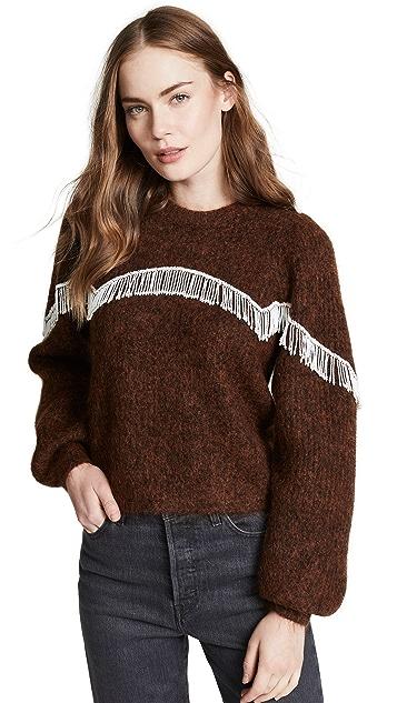 GANNI 厚实柔软羊毛针织
