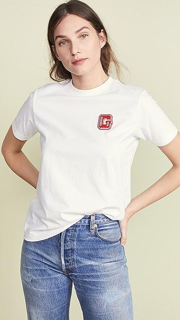 GANNI 轻质针织 T 恤