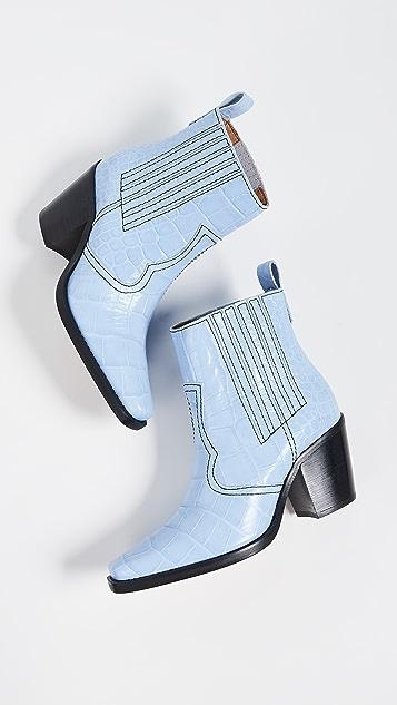 GANNI 西部靴款