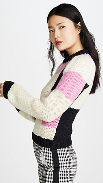 GANNI 手工针织羊毛毛衣