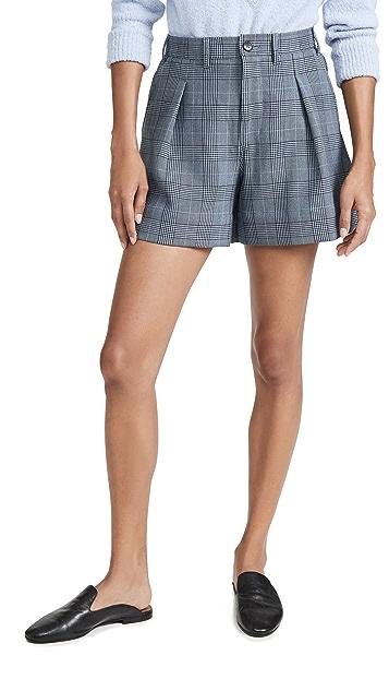 GANNI 西装短裤