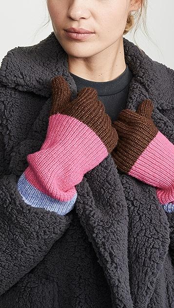 GANNI 针织手套