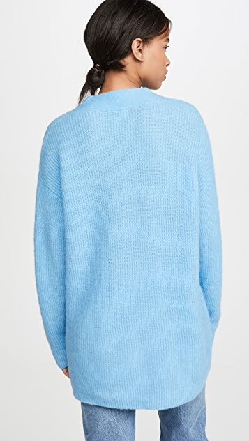 GANNI 柔软羊毛针织毛衣