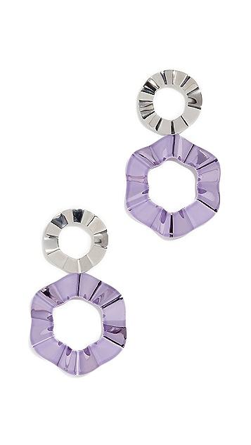 Gaviria Double Ravioli 耳环