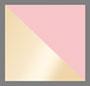 金色/浅粉色