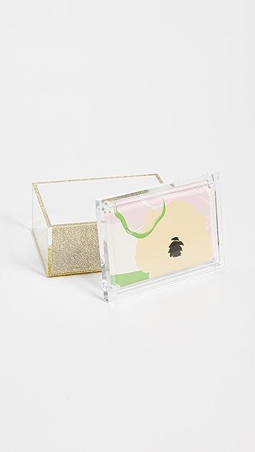 礼物精品馆 Tara Wilson Design 中号亮片盒