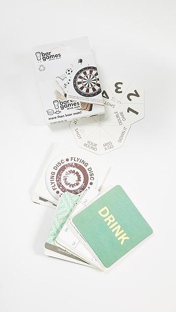 礼物精品馆 Bar 游戏杯垫