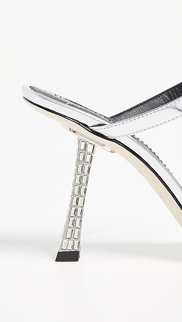 Giuseppe Zanotti Spicy 95mm 便鞋