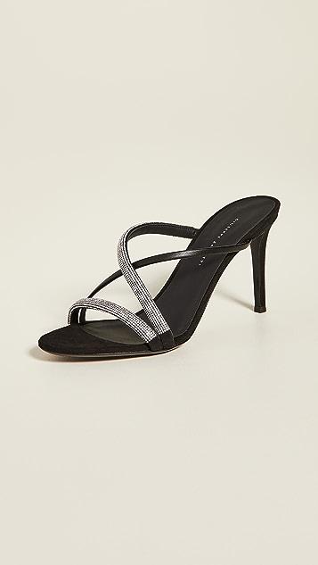 Giuseppe Zanotti 85mm 基本款凉拖鞋