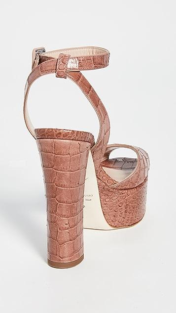 Giuseppe Zanotti Lavinia 80mm Platò 凉鞋