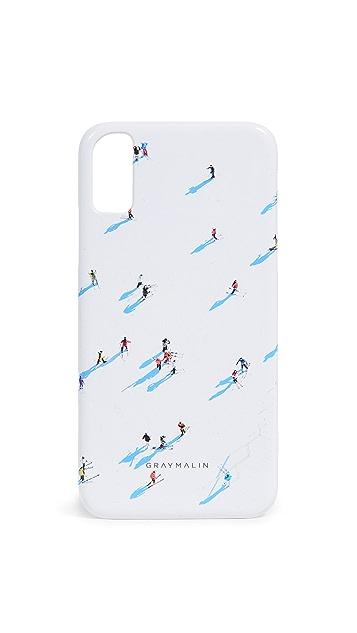 Gray Malin The Deer Valley Skiers iPhone 手机壳