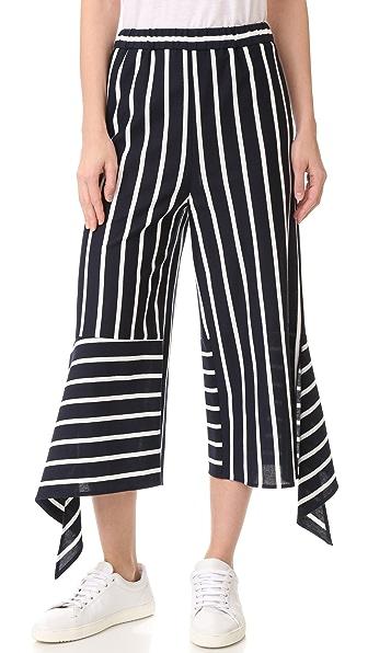 GOEN.J 条纹裤子