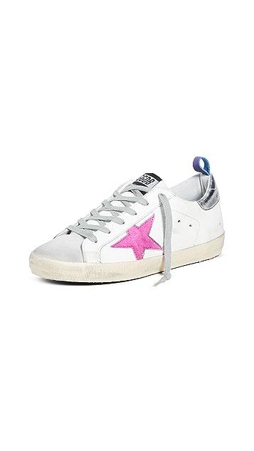 Golden Goose Superstar 踝链饰运动鞋